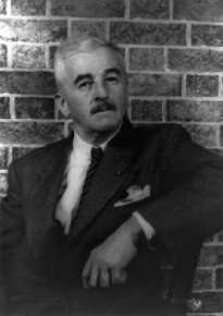 William Faulkner wrote on the wall